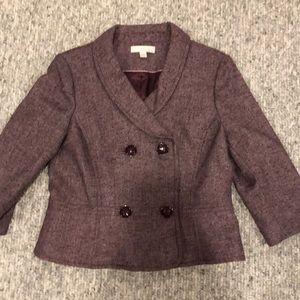 Caslon Tweed Crop Blazer